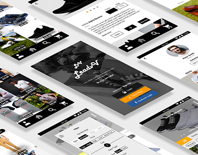 UX/UI for an Ecommerce (Online clothing store)