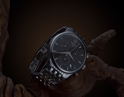 TISSOT chronometer watch – Product Photography