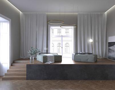studio apartment in Vienna