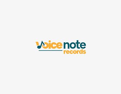 Brand Identity - Voice Note Records