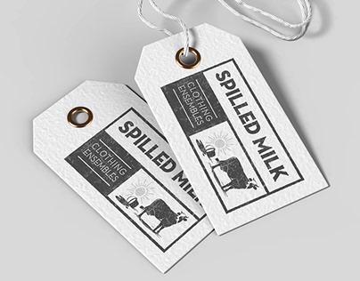 Spilled Milk - Logo, Bus Card, Letterhead & Envelope