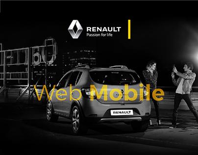 Renault - Web Mobile