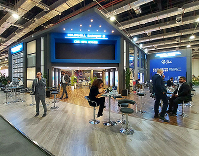 Coldwell Banker Booth at Cityscape Egypt 2020