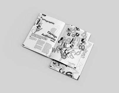 Typographic Design Authorship