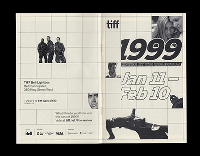 1999 Film Series Zine