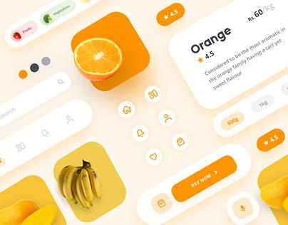 Grocery App Concept Design - Set 2