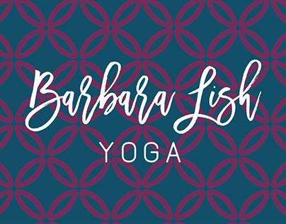 Barbara Lish Yoga –Marketing Collateral