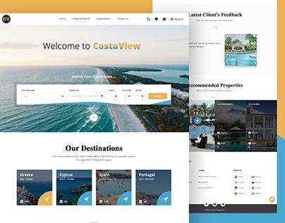 Costa View Tavel website