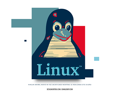 Design of Linux tshirt