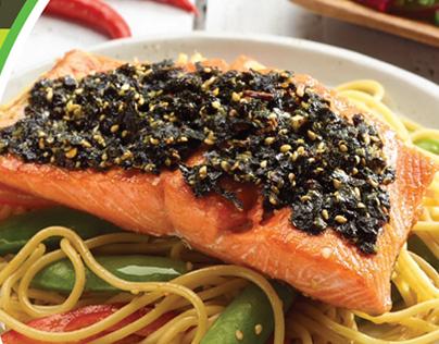 Salmon Event and Nori-Crusted Salmon Recipe