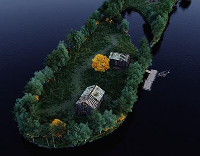 """"""" Kotisaari Island '' - CGI"""