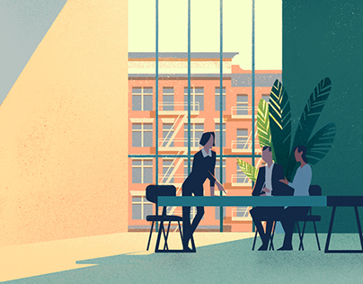 Office and Business Illustration