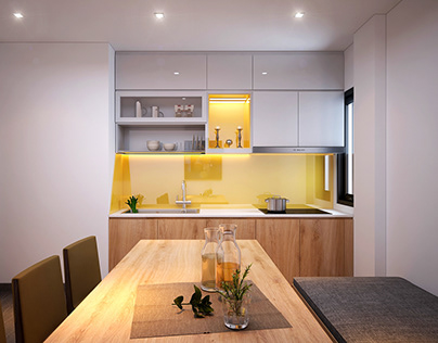 Small kitchen corner