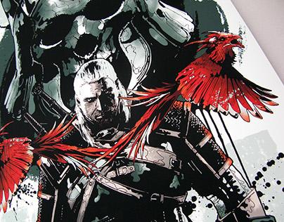 Xbox • Witcher 3 artwork