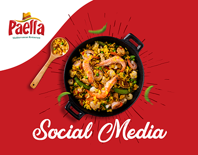 Paella Restaurant - Social Media