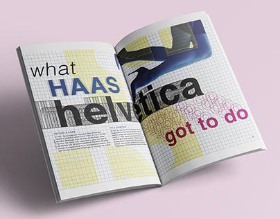 HELVETINA - Helvetica Type Specimen Book