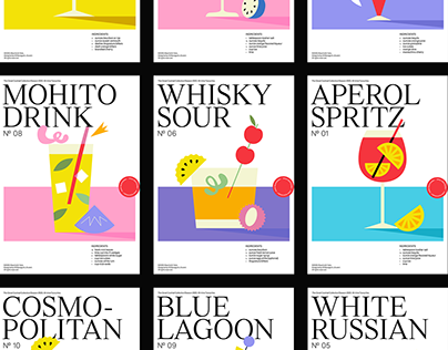 Cocktail Poster Collection