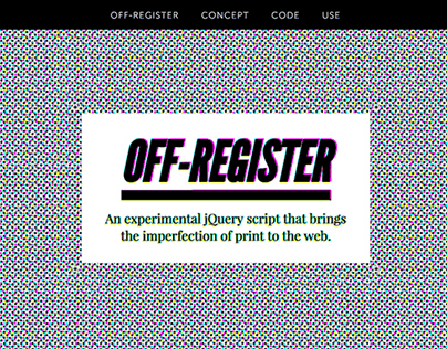 Off-Register