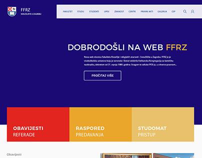 FFRZ web design idea