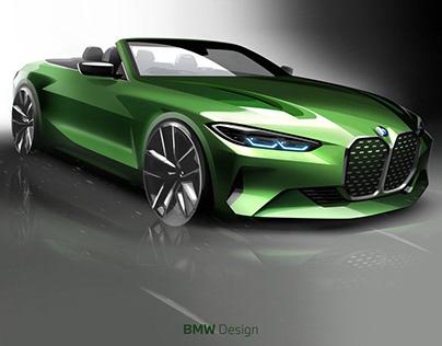 Exterior Design_BMW 4 Series Convertible (2021)