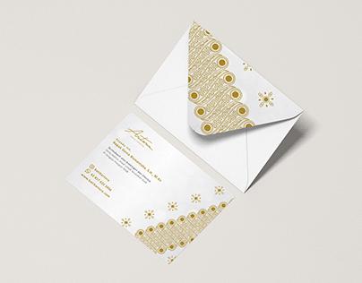 Design Envelope Batik Parang Artora