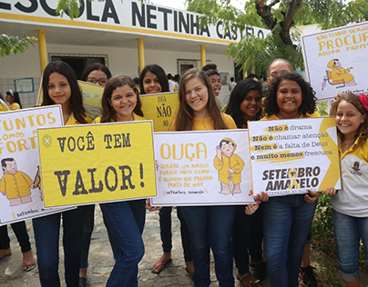 Setembro Amarelo - Escola Netinha Castelo