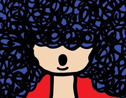 Aparecida, a menina com cabelos de Brasil - 2017