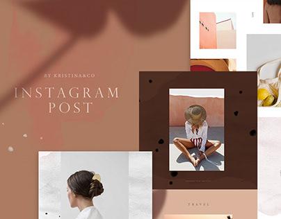 Modern Instagram Post