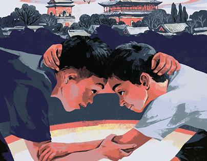 翌平小说封面 / Yi Ping nouvels' covers