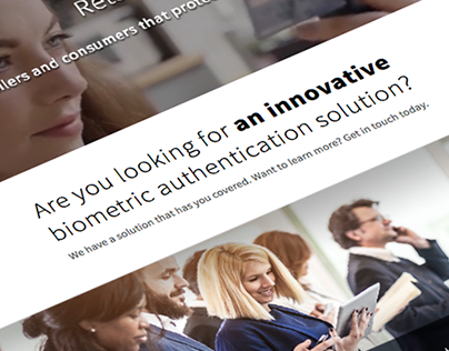 ImageWare Systems Corporate Website Redesign