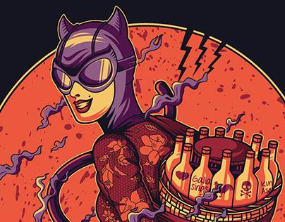Herbalist Hero #Catwoman Fanart