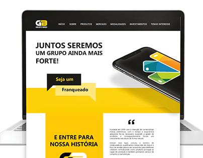 Landing Page - Franquia Grupo Bred