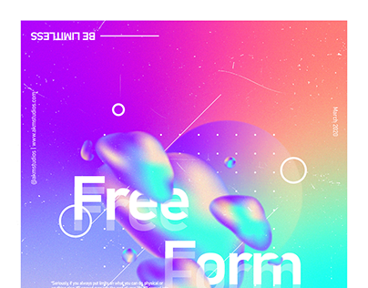 Abstract Gradient Posters