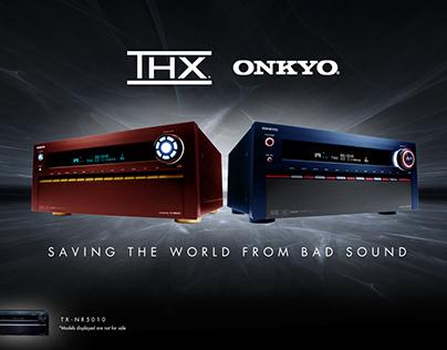 THX/Onkyo Avengers Concept Ads