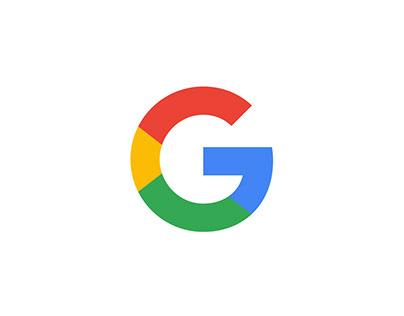 Google Phone Inspired Web Banner