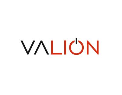 "Logo for design agency ""VALION"""