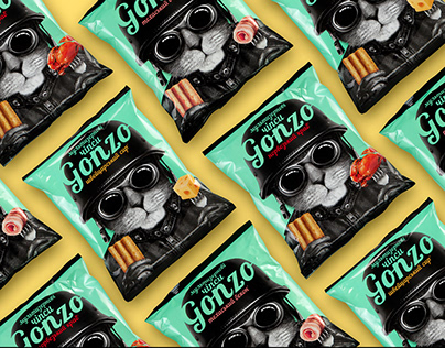 GONZO packaging