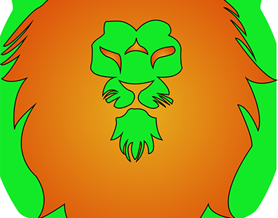 Lion logo Illustration