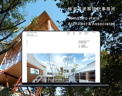 Tomohiro Hata Architect&Associates 畑友洋建築設計事務所Web Design