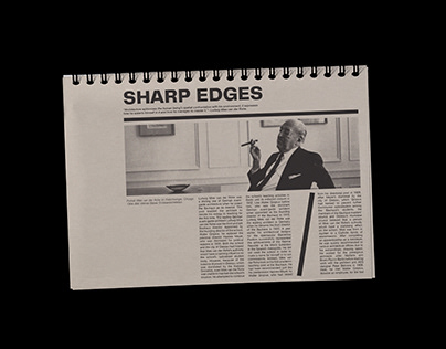 BIOGRAPHY OF 20TH CENTURY ARCHITECT/NOTEPAD
