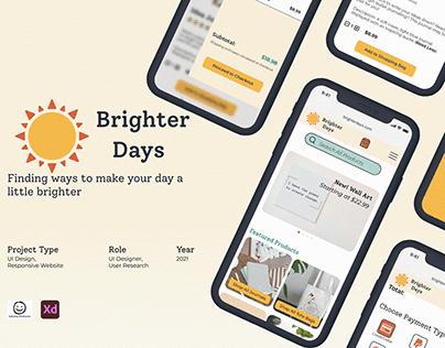 Brighter Days: Online Store Case Study