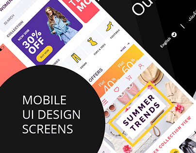 Outfit E-commerce Mobile UI Design