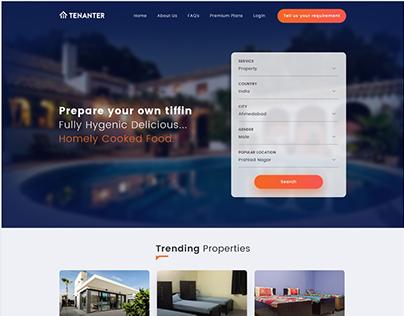 Tenanter Homepage