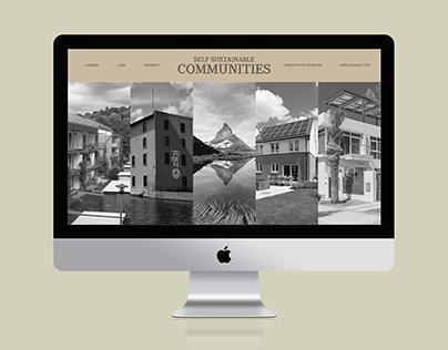 D&AD MONOTYPE // Self Sustainable Communities