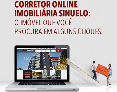Anúncio - Corretor Online Imobiliária Sinuelo