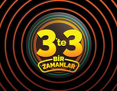 3'te 3 Bir Zamanlar Yarışma Programı Logo Tasarımı