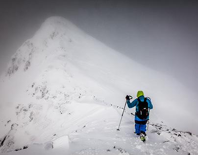 L'hiver dans les Pyrénées ou dans les Alpes