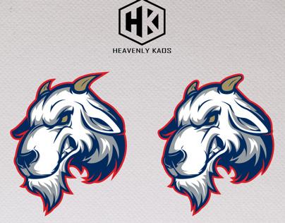 Goat Mascot Logo Design