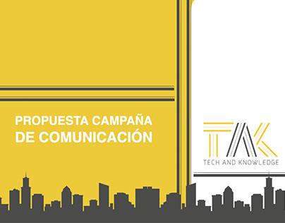 Campaña de Comunicación TAK
