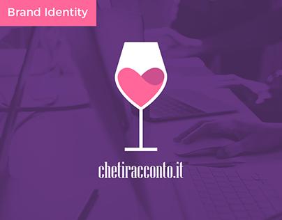 chetiracconto.it Logo and Brand identity design